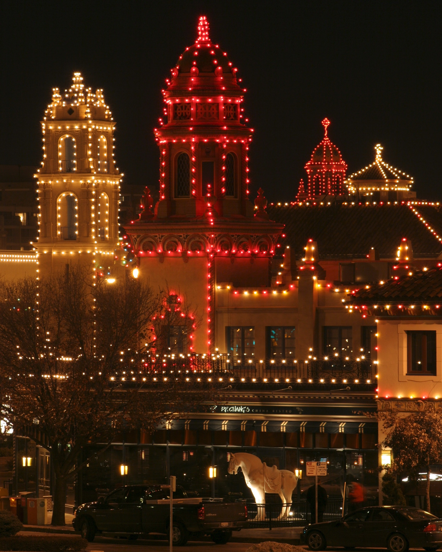 KC Country Club Plaza Christmas lights 2013 | homelessphilosopher